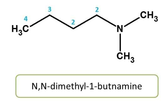 IUPAC name - N-substitution