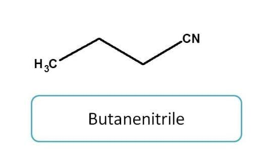 IUPAC naming of nitriles