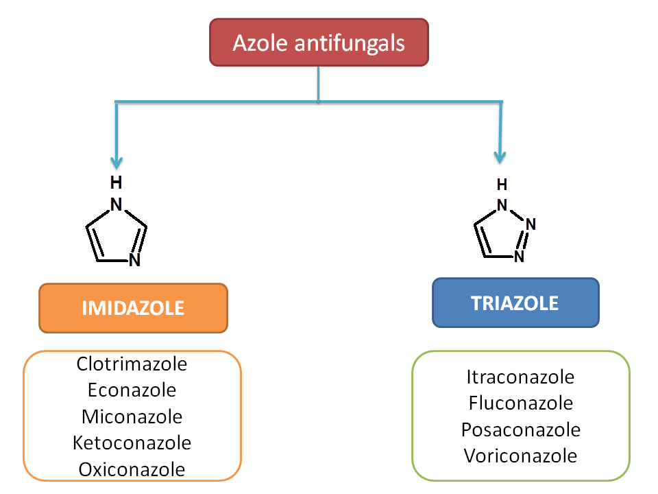 Suffixes of azole antifungals