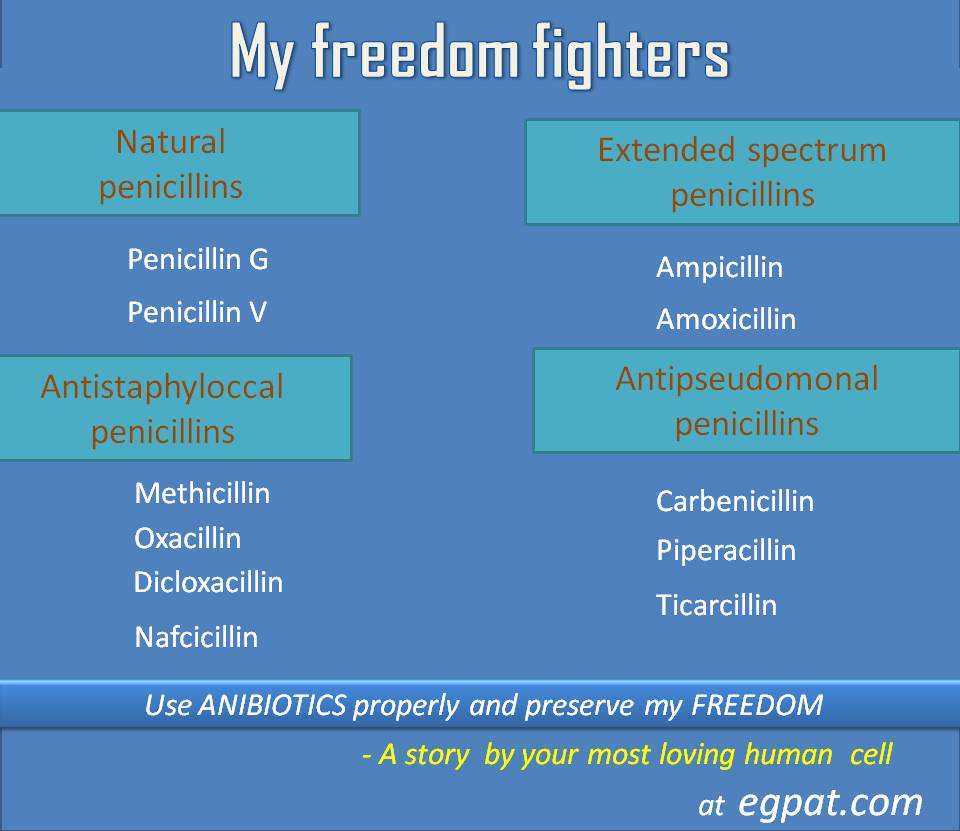 my story with antibiotics as freedom fighters
