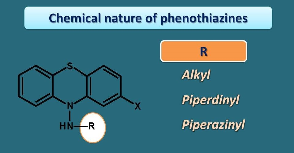 chemical nature of phenothiazines